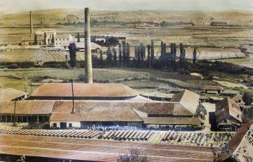 """Industria e materialit ndërtimore """"Dugagjini"""" Gjakovë 1902"""